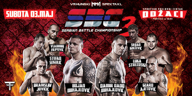 SBC 3 – Amazing MMA event in Odžaci, SERBIA.