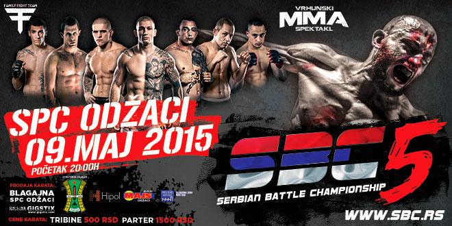 SERBIAN BATTLE CHAMPIONSHIP 5, 09 MAJ 2015, SPC ODŽACI
