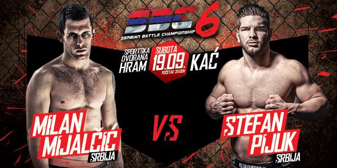 Milan Mijalčić vs Stefan Pijuk