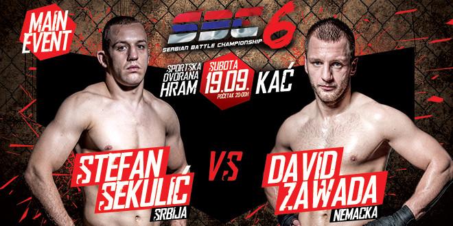 """Stefan Sekulić vs David """"Sagat"""" Zawada, Main Event – SBC 6"""