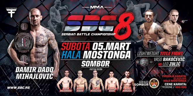 SBC 8 – SERBIAN BATTLE CHAMPIONSHIP 8, 05.03.2016. SOMBOR