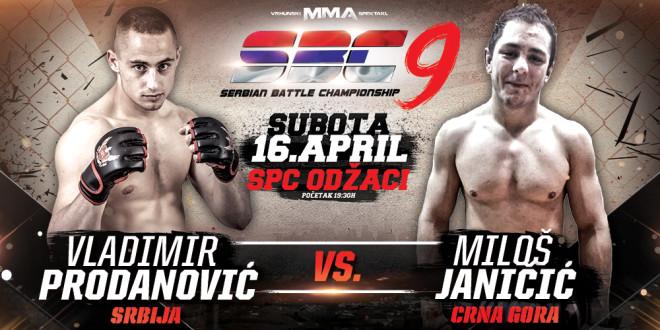 Vladimir Prodanović vs Miloš Janičić