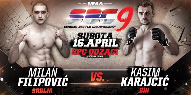 Milan Filipović vs Kasim Karajčić