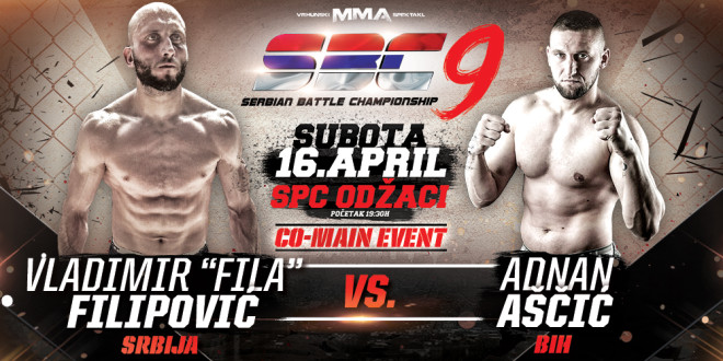 Vladimir Fila Filipović vs Adnan Aščić, SBC 9, CO-MAIN Event