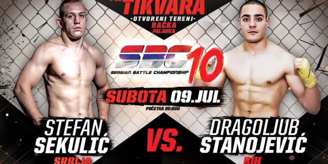 Stefan Sekulić vs Dragoljub Stanojević
