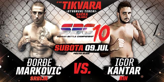 Đorđe Marković vs Igor Kantar
