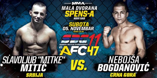 """Slavoljub """"Mitke"""" Mitić vs Nebojša Bogdanović"""