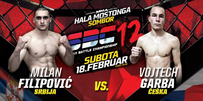 Milan Filipović vs Vojtech Garba
