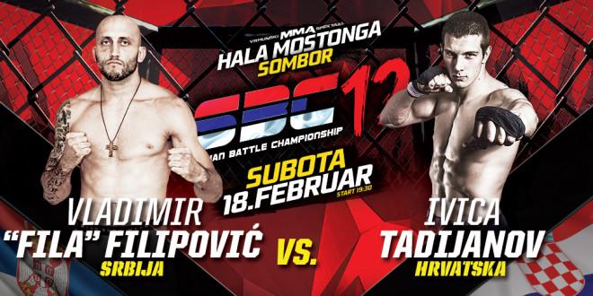 """Vladimir """"Fila"""" Filipović vs Ivica Tadijanov"""