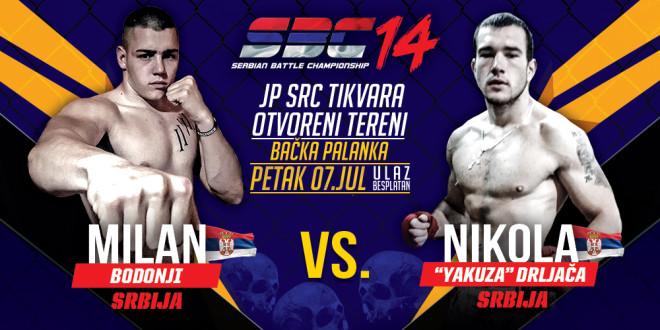 Milan Bodonji vs  Nikola Drljača!