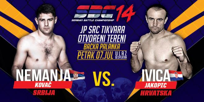 Nemanja Kovač vs Ivica Jakopic