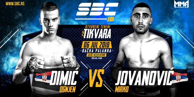 SBC 18 / Ognjen Dimić vs Mirko Jovanović