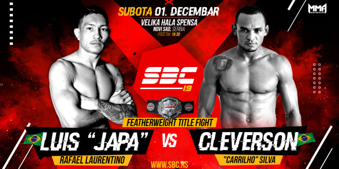 "Novi protivnik za Luis Rafael ""Japa"" na SBC 19 – Cleversona ""Carrilha"" Silve"