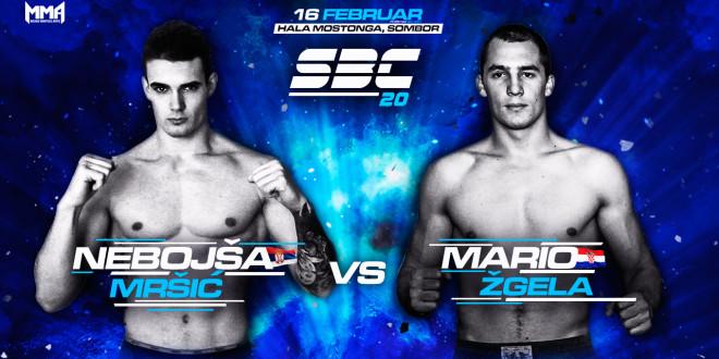 SBC 20 / Nebojša Mršić vs Mario Žgela