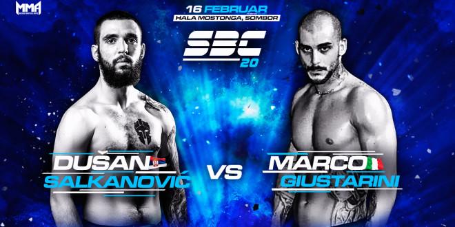 SBC 20 – Dušan Salkanović vs Marco Giustarini