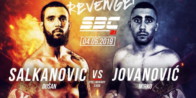 Novi protivnik za Dušana Salkanovića na SBC 21 – Revenge!
