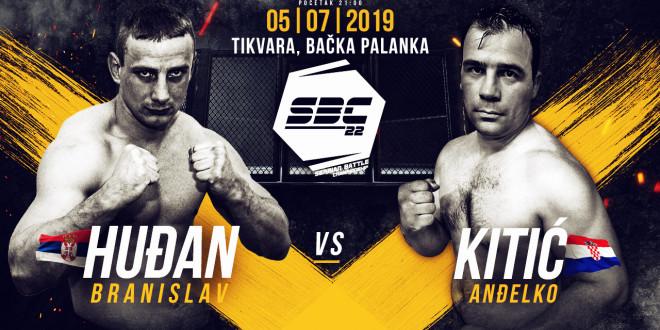 SBC 22 – Branislav Huđan vs Anđelko Kitić