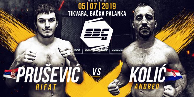 SBC 22 – Rifat Prušević vs Andreo Kolić