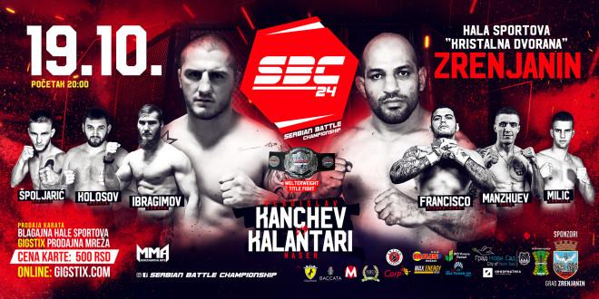 Serbian Battle Championship 24, 19.10.2019. Zrenjanin