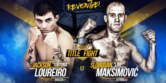 "SBC Lightweight Championship Bout  Jackson ""Tortora"" Loureiro vs Slobodan ""Limp"" Maksimović"
