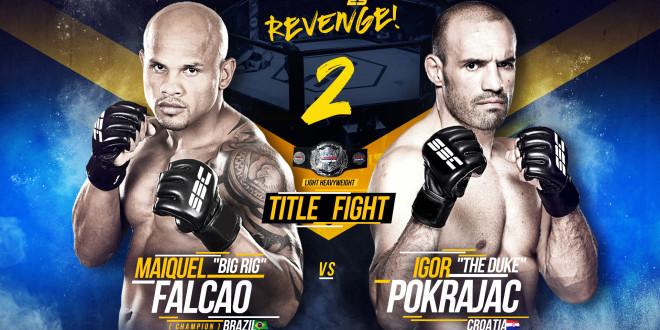 """SBC Light Heavyweight Championship Bout  Maiquel """"Big Rig"""" Falcao vs Igor """"The Duke"""" Pokrajac"""