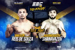 "SBC Flyweight Championship Bout  Joriedson ""Fein"" Reis de Souza vs Magomedgadzhi ""Abutturab"" Shanavazov"