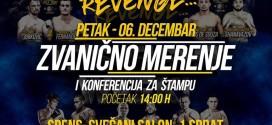 SBC 25 Revenge / Poziv na zvanično merenje i konferenciju za štampu