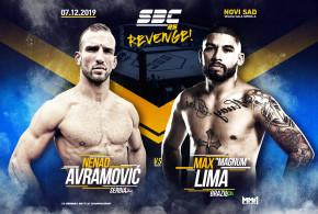 """Novi protivnik za Avramovića na SBC 25 – Revenge! Max """"Magnum"""" Lima"""
