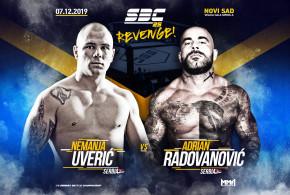Novi protivnik za Uverića na SBC 25 – Revenge! Adrian Radovanović