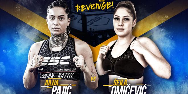 SBC 25 – Revenge!  Julija Pajić vs Šejla Omičević