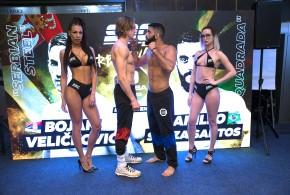 SBC 27 Revenge / Zvanična konferencija za štampu i merenje boraca – Rezultati