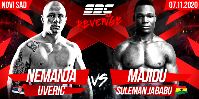SBC 29 Revenge Nemanja Uverić vs Majidu Suleman Jababu