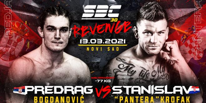 """SBC 30 Revenge, Predrag Bogdanović vs Stanislav """"Pantera"""" Krofak"""