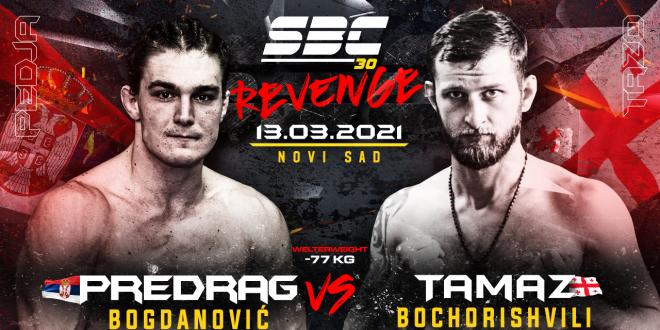 SBC 30 Revenge, Novi protivnik za Predraga Bogdanovića – Tamaz Bochorishvili