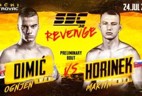 SBC 32 Revenge, Novi protivnik za Ognjena Dimića, Martin Horinek!