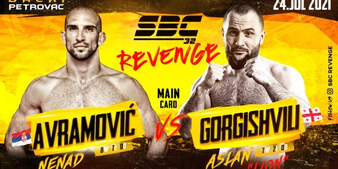 SBC 32 Revenge, NENAD AVRAMOVIĆ vs ASLAN GORGISHVILI