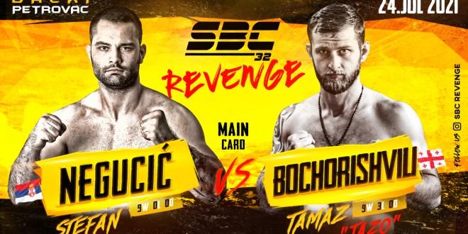 SBC 32 Revenge, STEFAN NEGUCIĆ vs TAMAZ BOCHORISHVILI