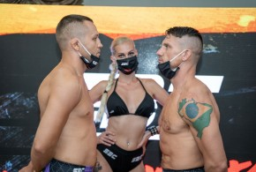 SBC 32 Revenge, Official weigh-in, Results
