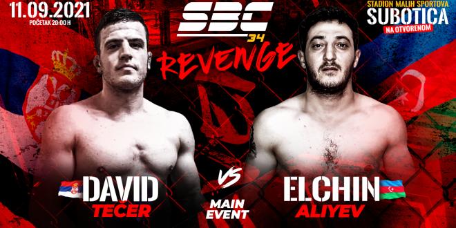 SBC 34 Revenge, David Tečer vs Elchin Aliyev