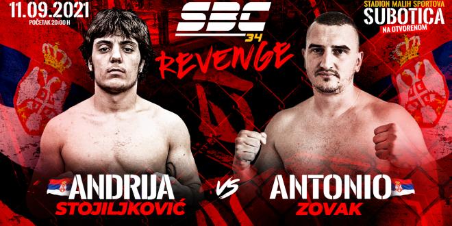 SBC 34 Revenge, Andrija Stojiljković vs Antonio Zovak