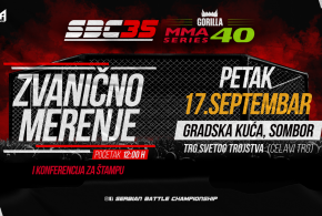 SBC 35 & Gorilla MMA Series 40, Official Weigh-In