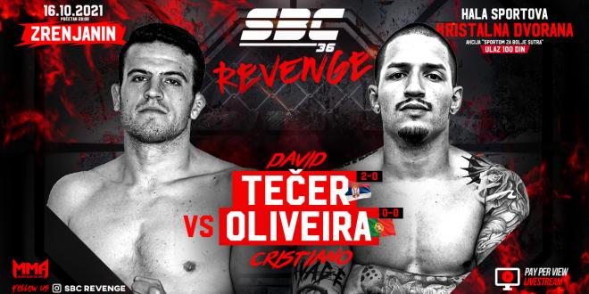 SBC 36 Revenge, David Tečer vs Cristiano Oliveira