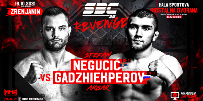 SBC 36 Revenge, Stefan Negucić vs Akbar Gadzhiekperov