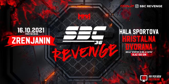 SBC 36 Revenge, 16.10.2021. Zrenjanin