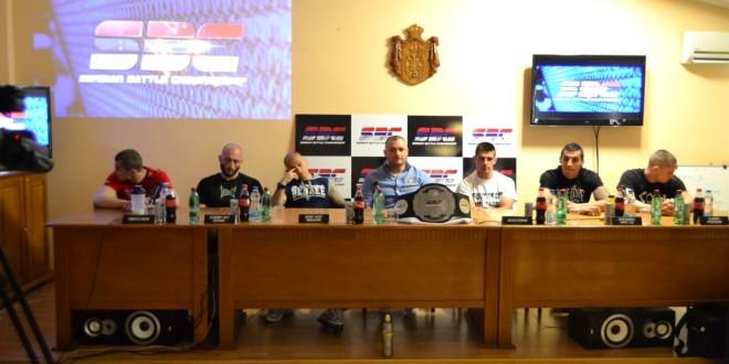 Zvanična konferencija za štampu i merenje boraca za SBC 5