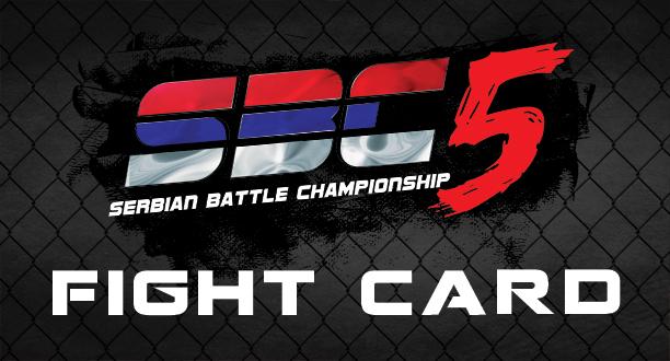 SBC 5 – FIGHT CARD