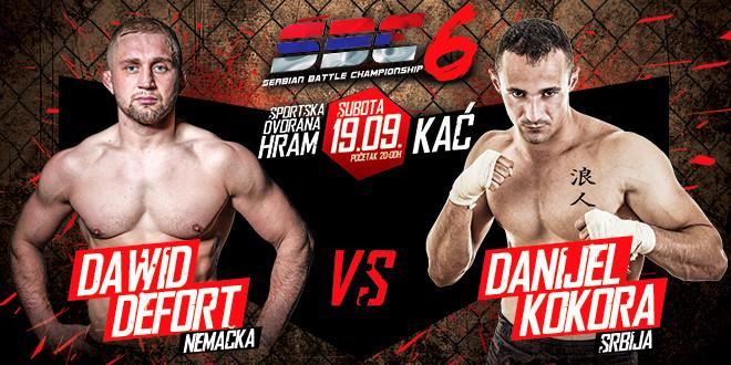 Dawid Defort vs Danijel Kokora