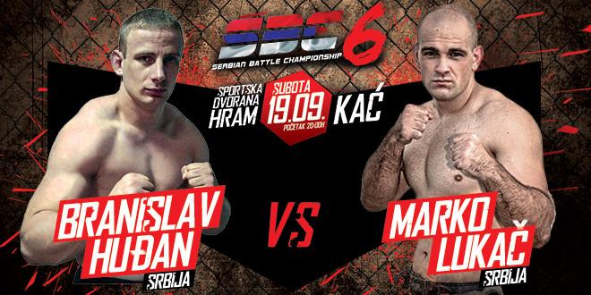 Branislav Huđan vs Marko Lukač