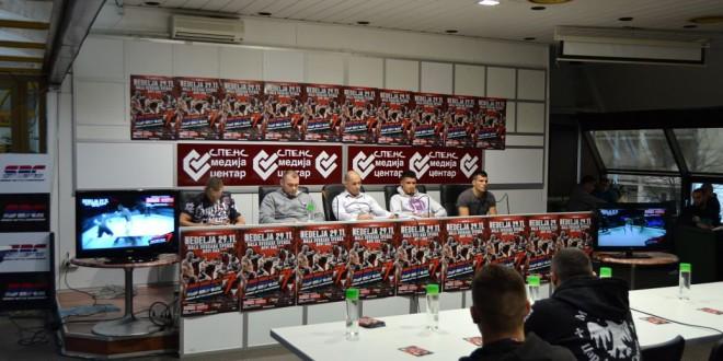 Zvanična konferencija za štampu i merenje boraca za SBC 7