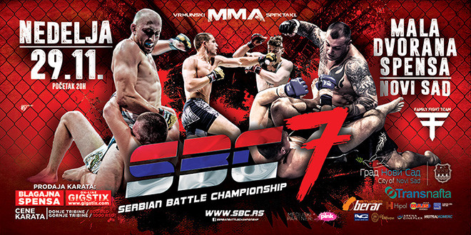 SBC 7 – SERBIAN BATTLE CHAMPIONSHIP 7, 29.11.2015. NOVI SAD